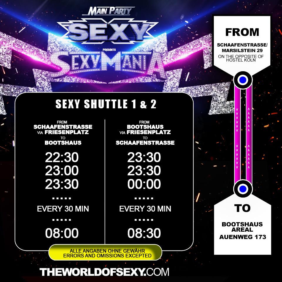 , +++ SEXY MANIA SHUTTLE +++