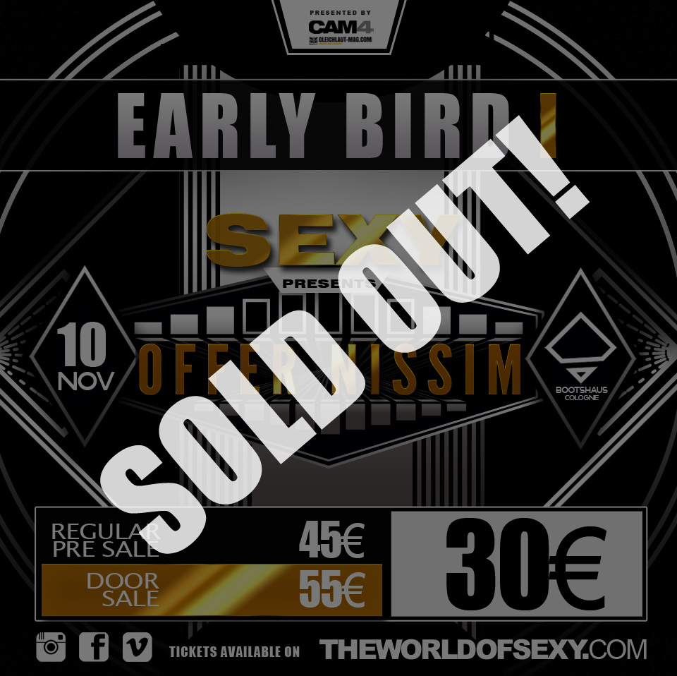 , +++  EARLY BIRD I sold out within 24h +++