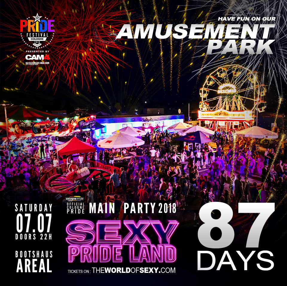 , +++  SEXY PRIDE LAND coming up in 87 DAYS  +++