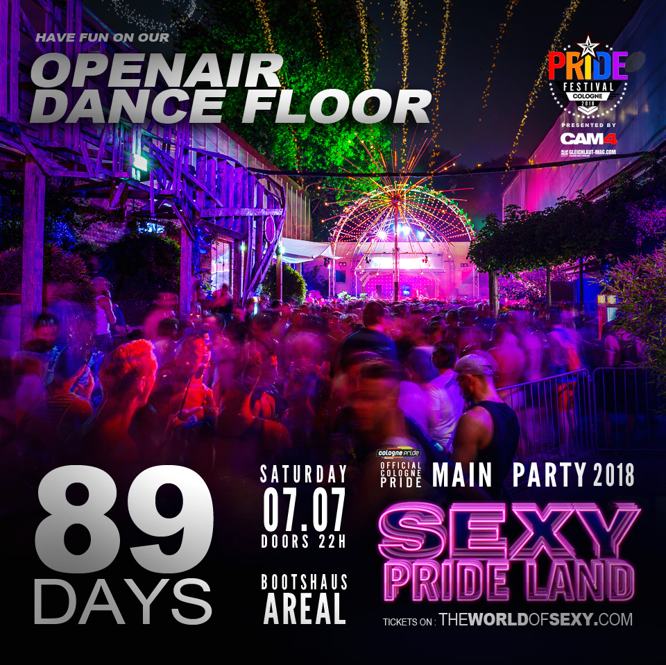, +++  SEXY PRIDE LAND coming up in 89 DAYS  +++