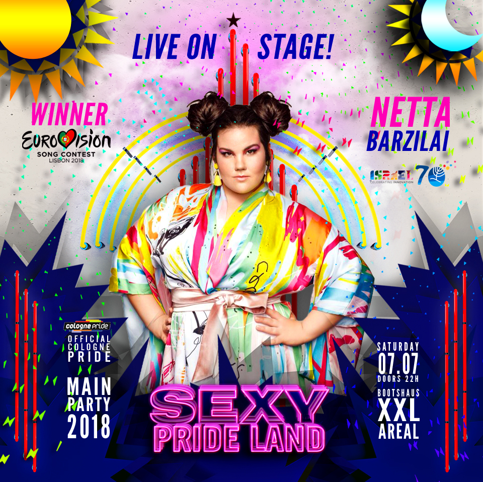 , +++ NETTA TOY on SEXY PRIDE LAND +++