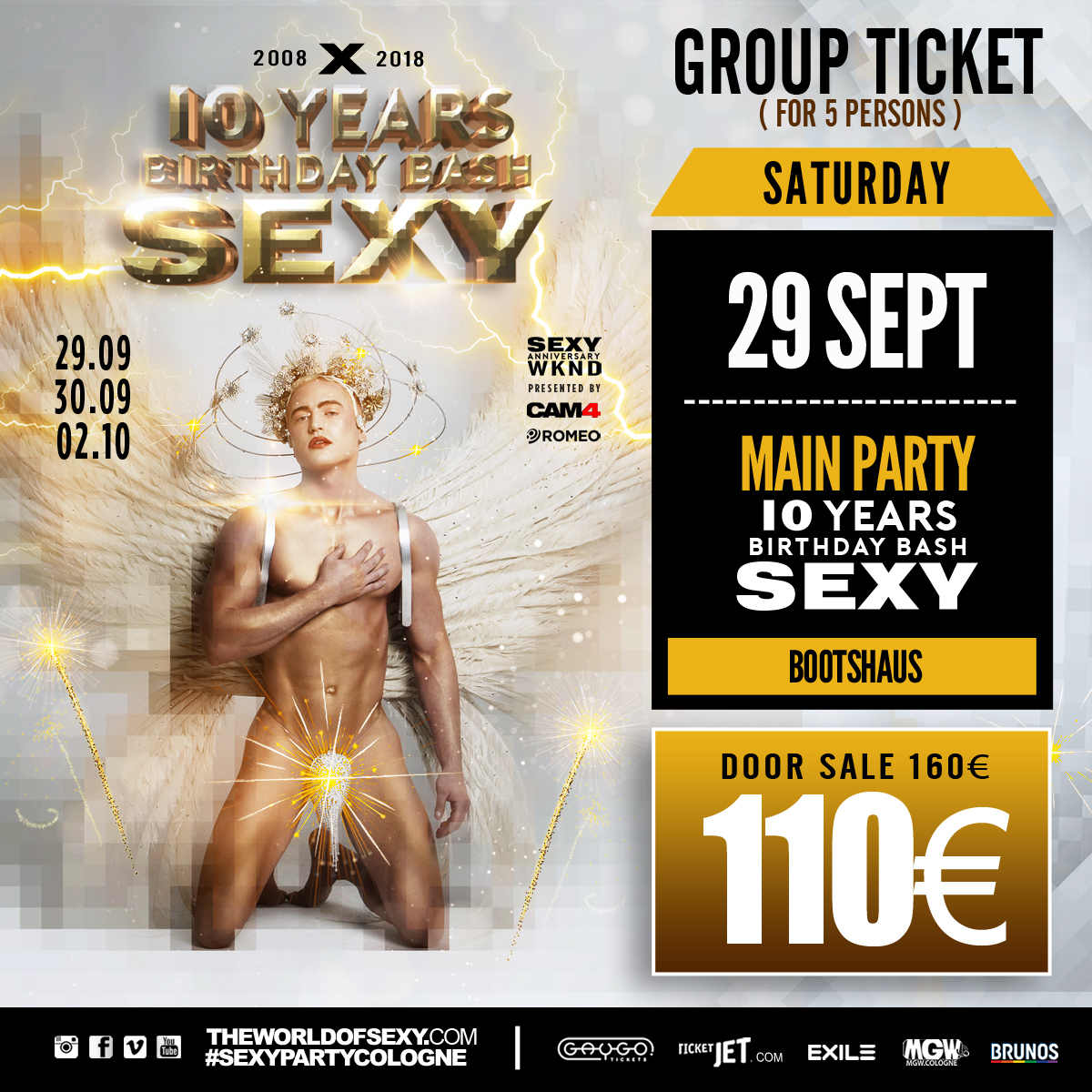 , +++ LIMITED GROUP TICKET ! +++