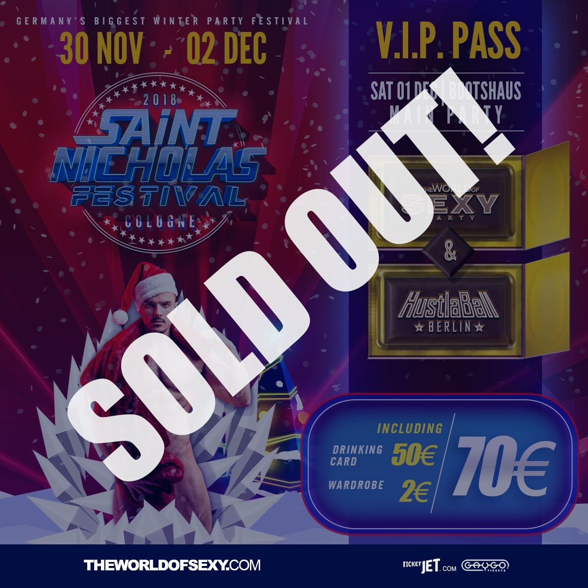 , +++ V.I.P. PASS for SEXY HUSTLA BALL – SOLD OUT!  +++