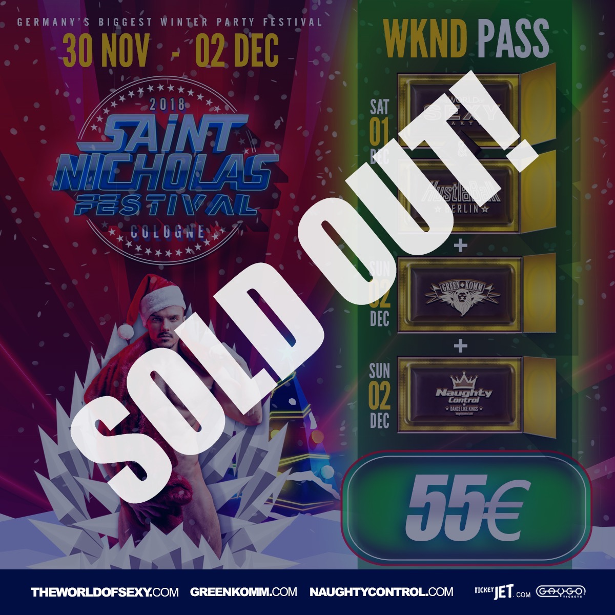 , +++ St.Nicholas Festival WKND PASS is SOLD OUT  +++