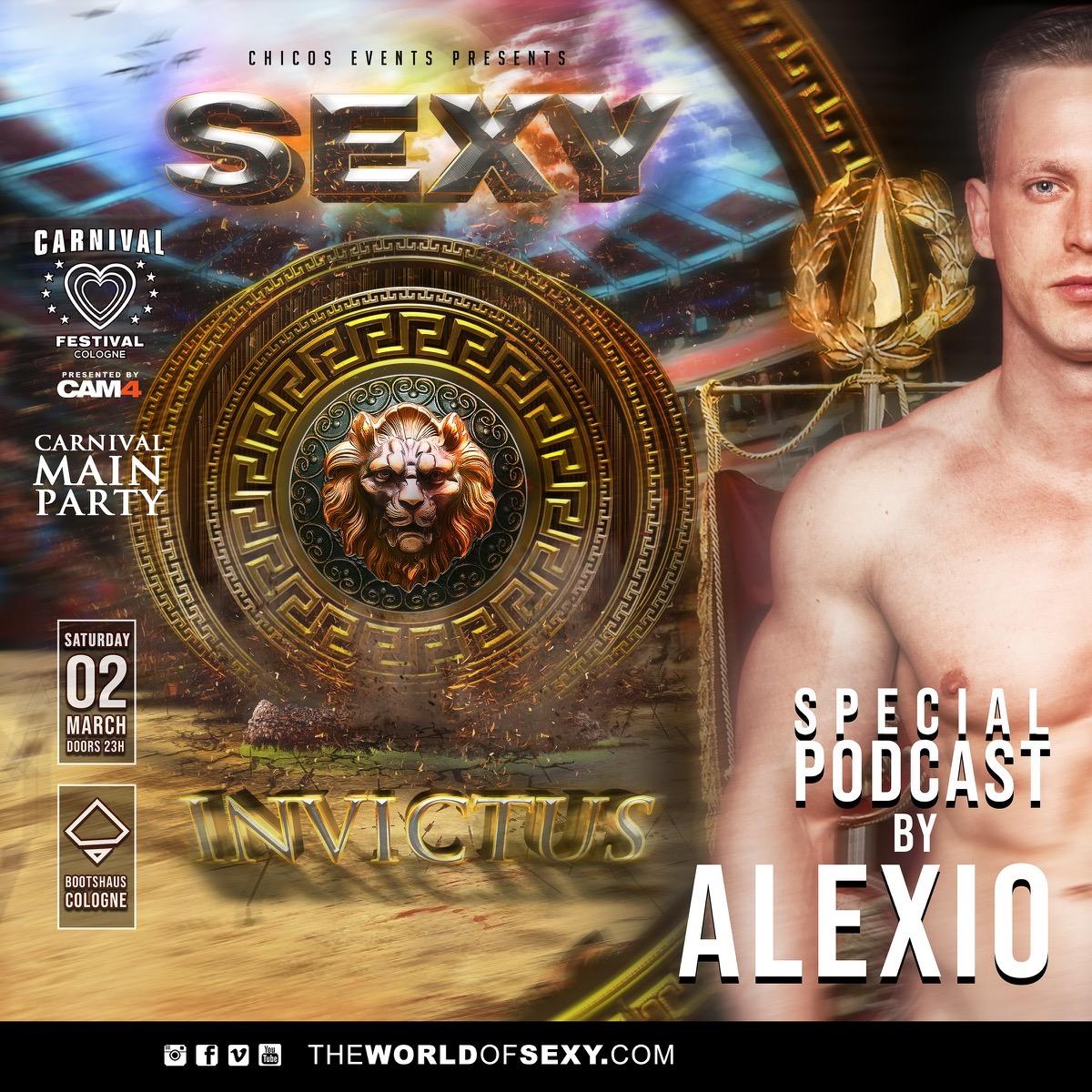 , SEXY INVICTUS PODCAST by ALEXIO