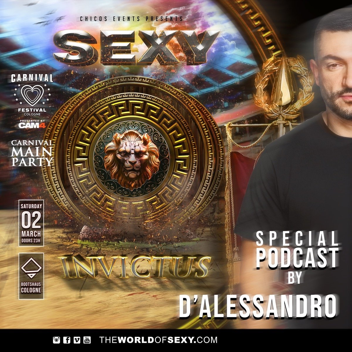 , STAR DJ D'Alessandro Dj and his exclusive podcast