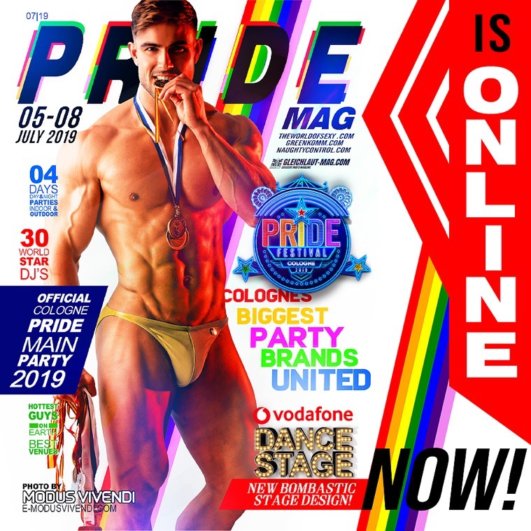 , PRIDE MAG 2019 is Online NOW!