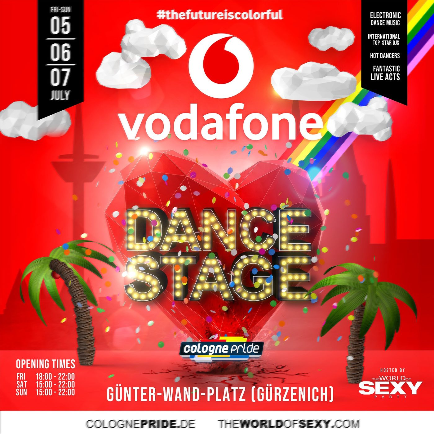 , VODAFONE DANCE STAGE 2019 hosted by SEXY Party!