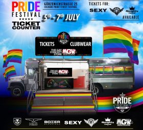 , Germany's biggest Pride Party Festival is back! GET YOUR TICKETS NOW!