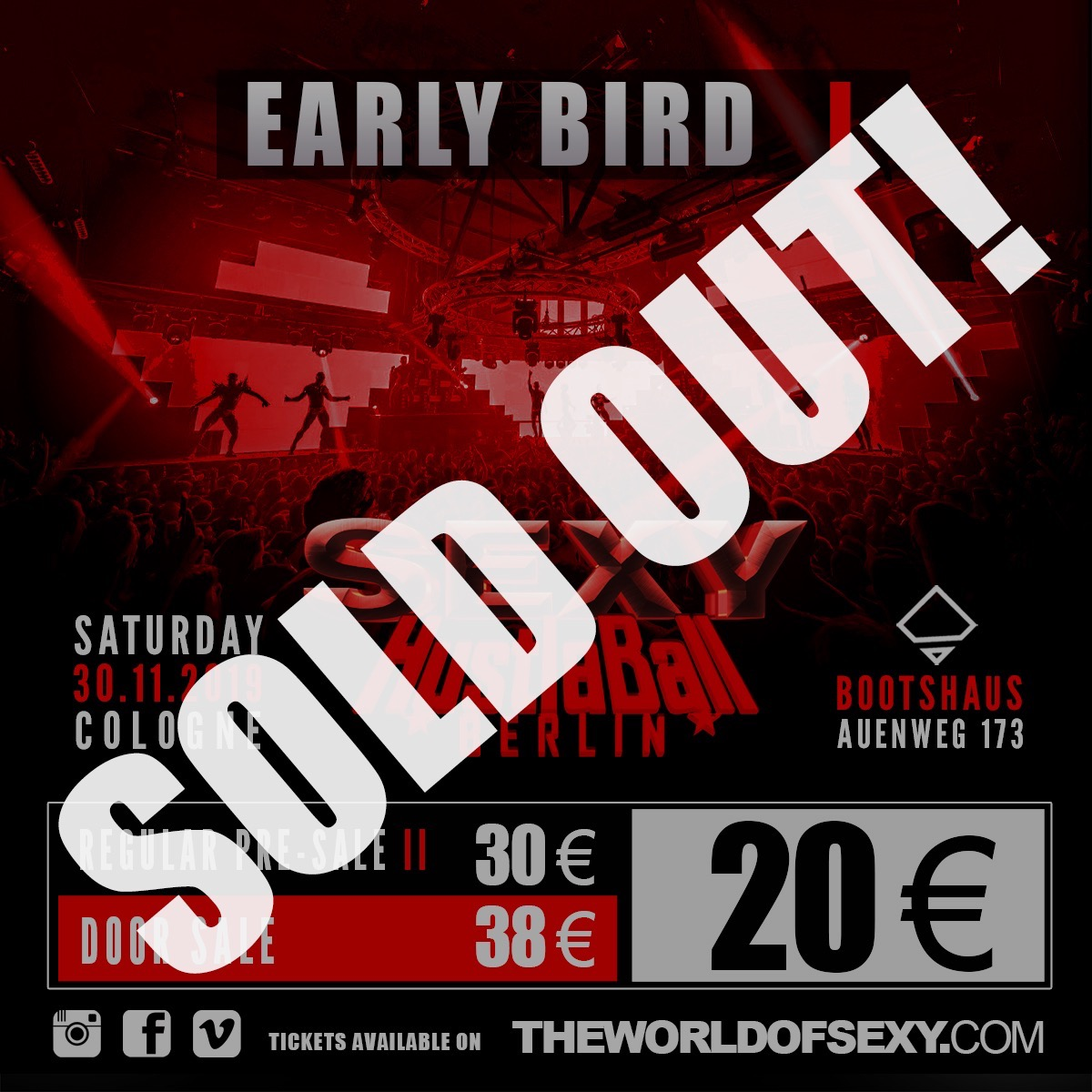 , SEXY HUSTLABALL EB 1 – 2019 – Is sold out!