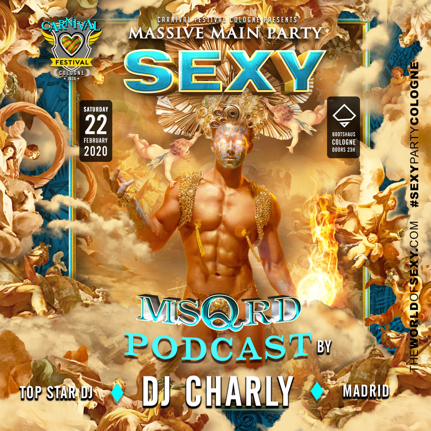 , SEXY MSQRD-PODCAST produced by StarDJ Charly!